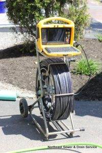 Sewer video inspection camera