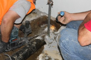 Pipe bursting by Northeast Sewer & Drain Service