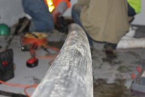 HDPE pipe for pipe burst